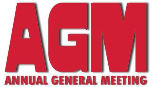 AGM November 5th at 7pm